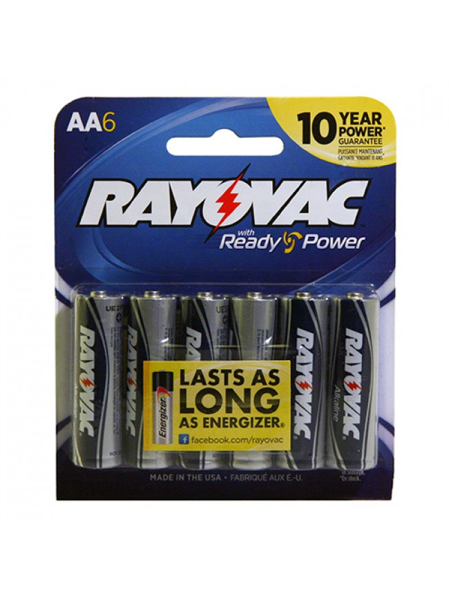 Battery AA 6 Pack