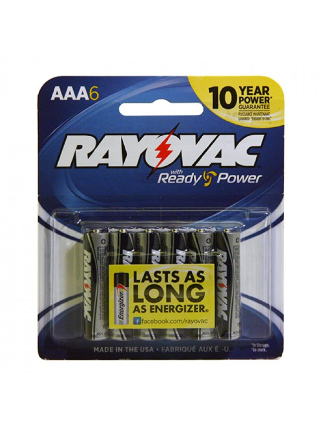 Battery AAA  6 Pack