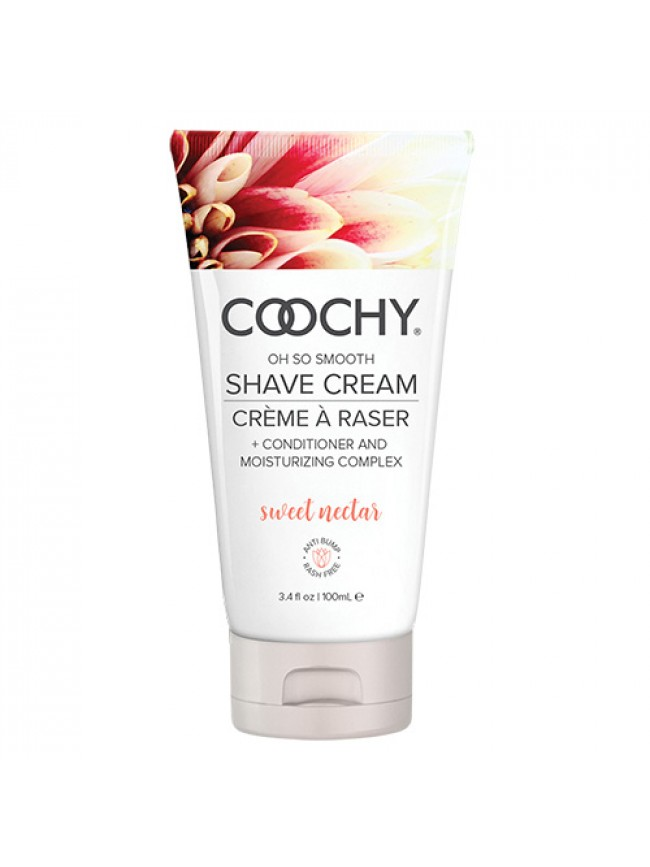 Coochy Shave Cream Sweet Nectar 3.4 oz