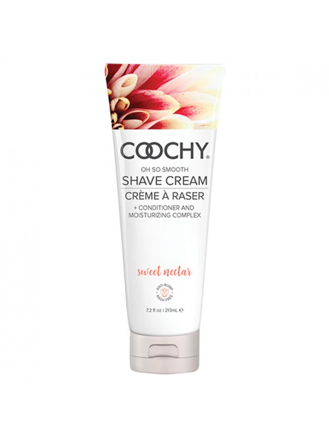 Coochy Shave Cream Sweet Nectar 7.2 oz
