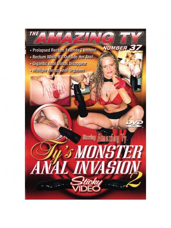 Amazing Ty -037 Monster Anal Invasion # 2